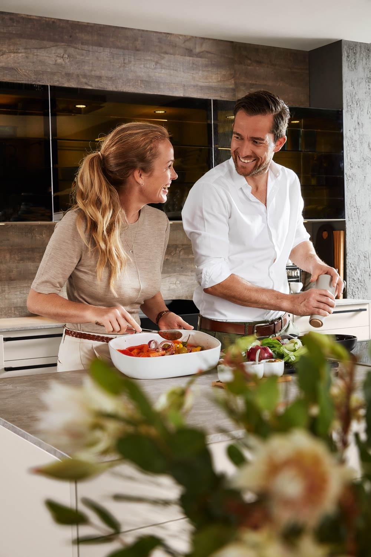 Koken in de KüchenTreff keuken
